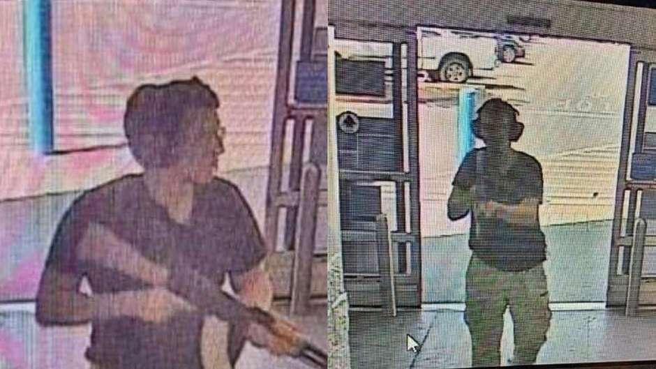 Conforme a imprensa americana, suspeito seria Patrick Crusius, de 21 anos Foto: AFP / BBC News Brasil