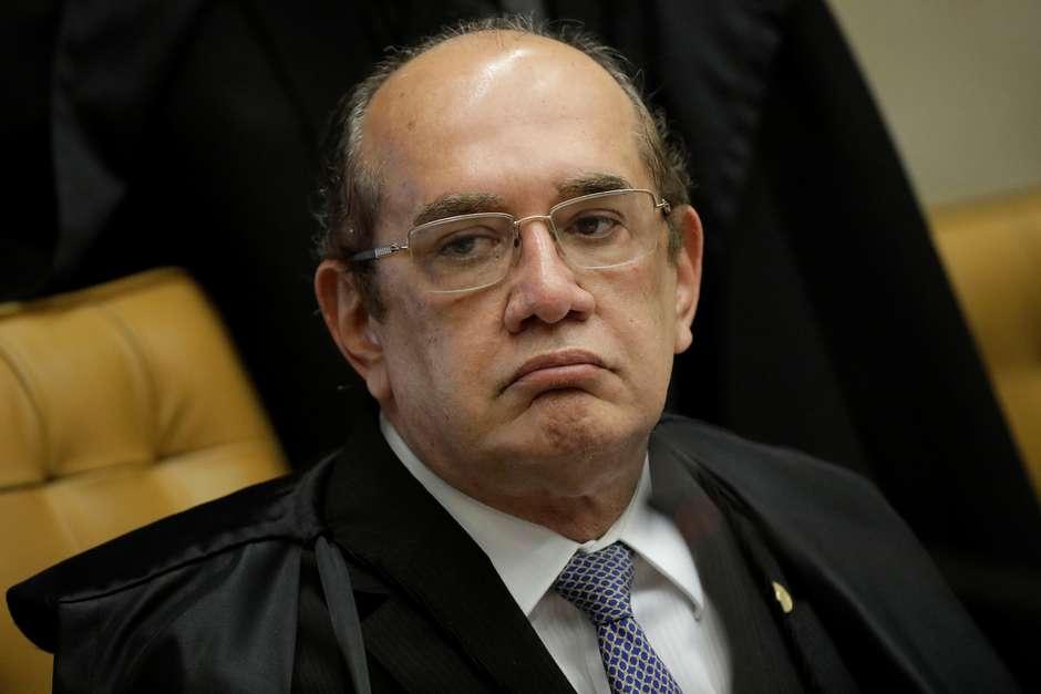 Ministro Gilmar Mendes durante sessão do STF. Foto: Ueslei Marcelino / Reuters