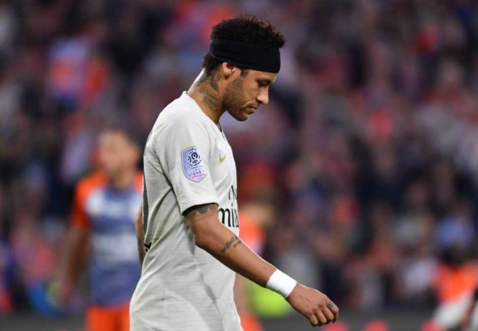 'Neymar começa a se ver de branco'(Foto: Pascal GUYOT / AFP) Foto: LANCE!