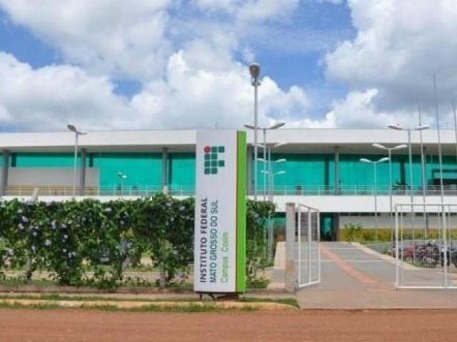 Unidade do IFMS em Coxim. (Foto: Reprodução/O Pantaneiro)