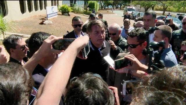 O presidente Jair Bolsonaro (Foto: G1)