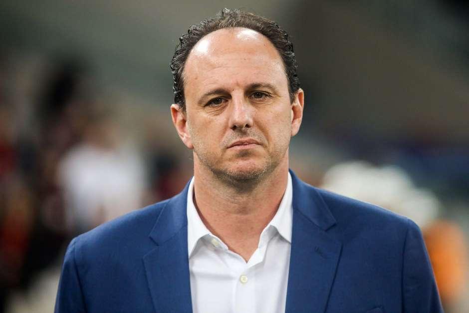 Rogério Ceni de 46 anos, assumirá o comando do Cruzeiro Foto: Joka Madruga / Futura Press