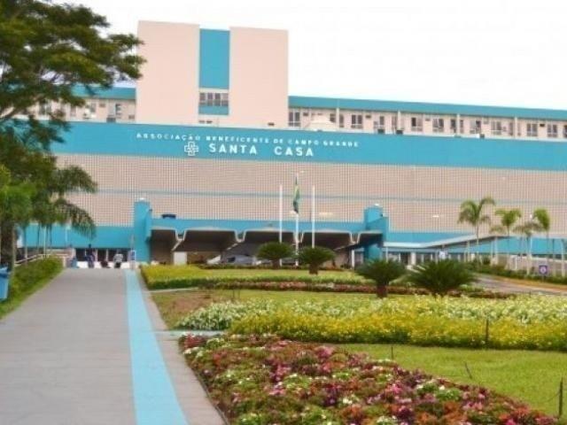 Santa Casa, maior hospital de Mato Grosso do Sul (Foto: Arquivo)