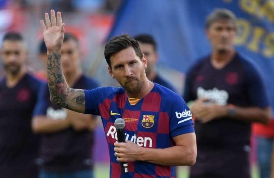 Messi pode ganhar mais um prêmio da Fifa (Foto: AFP) Foto: LANCE!