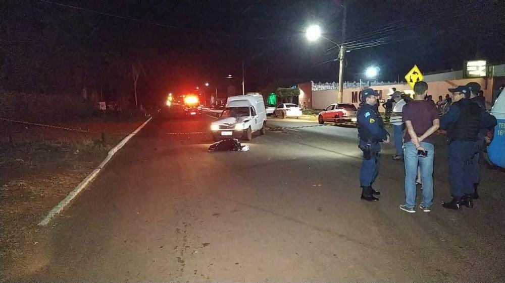 Mulher morre atropelada em Fátima do Sul