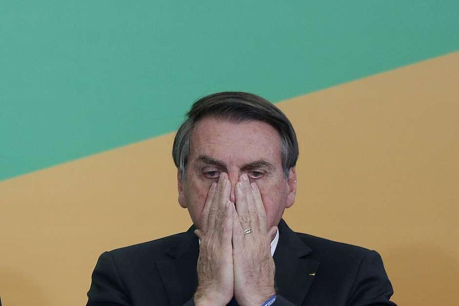 Presidente Jair Bolsonaro Foto: Dida Sampaio / Estadão