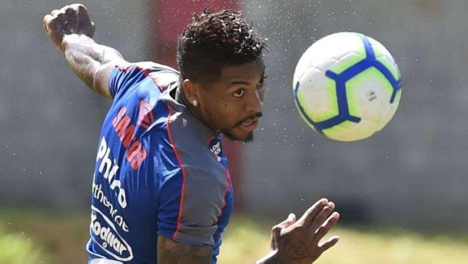 Marinho evita polêmica com Felipe Melo e admite pressão no Santos após tropeços Foto: Santos FC/Divulgação / Estadão
