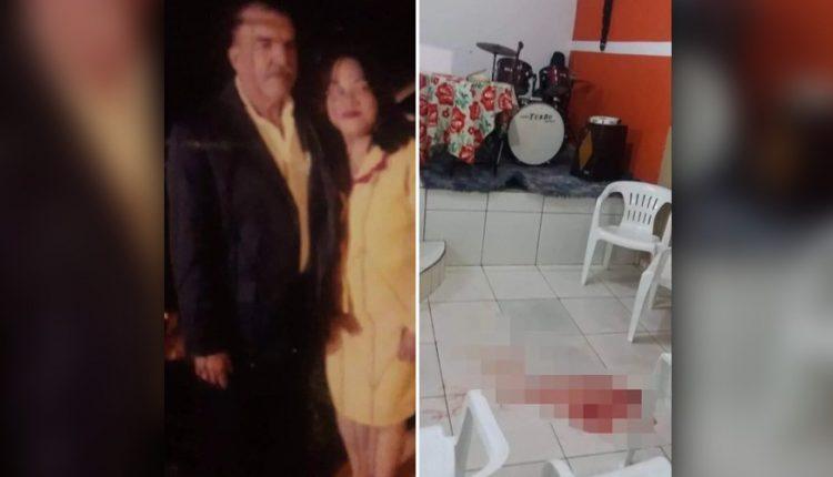 Pastora foi assassinada durante culto (Foto: WhatsApp)