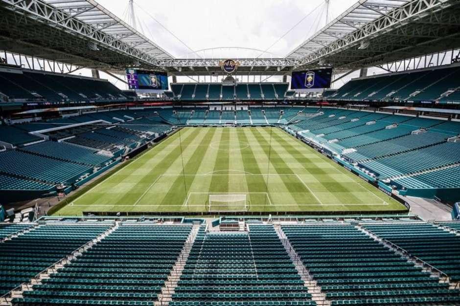 Hard Rock Stadium, em Miami Foto: Divulgação / Estadão