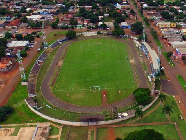 Estádio Loucão, em Maracaju, deve receber a primeira rodada da Série B (Foto: Divulgação)