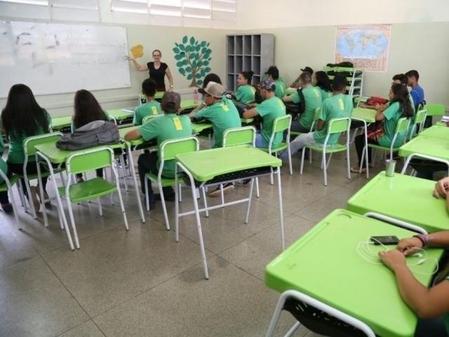 Estudantes da rede estadual de ensino (Foto: Arquivo)