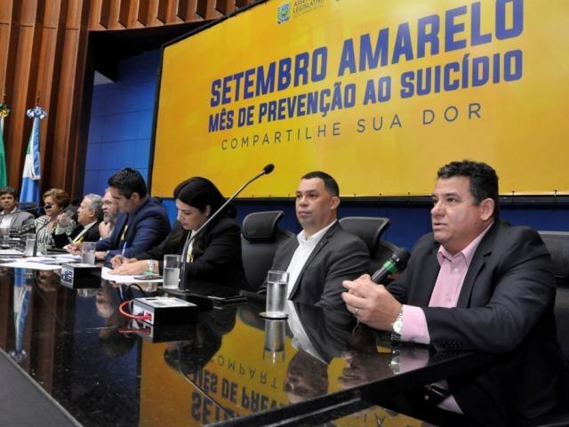 Audiência pública ocorreu no plenário da Assembleia (Foto: Luciana Nassar/ALMS)