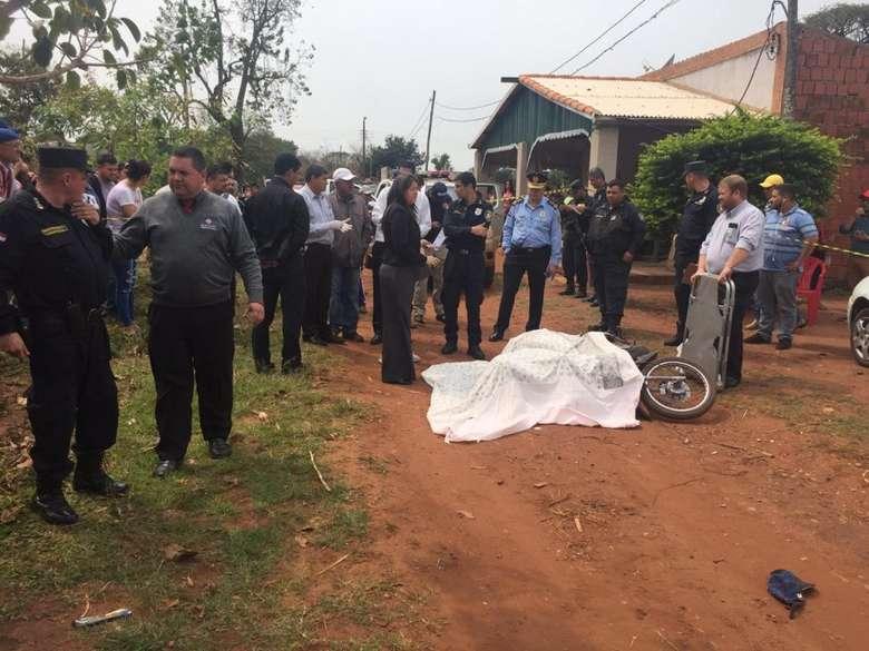 Homem foi executado na região de fronteira - Crédito: Porã News
