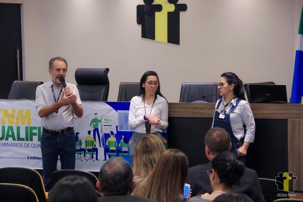 Zé Cabelo abre curso sobre Plano Diretor (Foto: Edson Ribeiro)