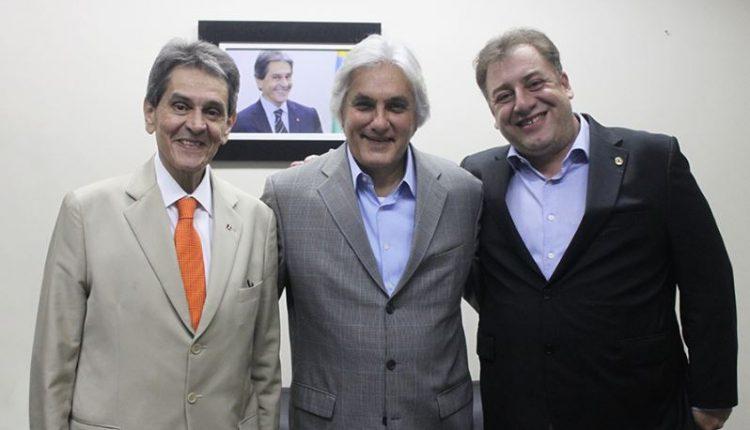 Roberto Jefferson, Delcídio e Neno Razuk (Felipe Menezes, PTB Nacional)