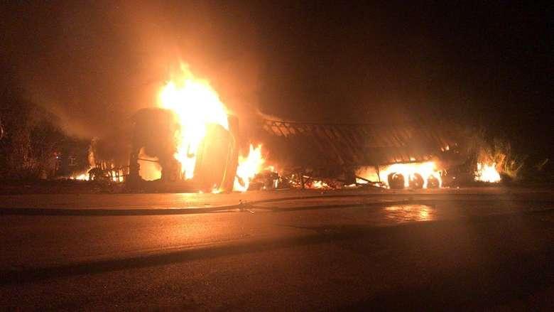 Acidente com ônibus que saiu de MS deixou três mortos - Crédito: Divulgação