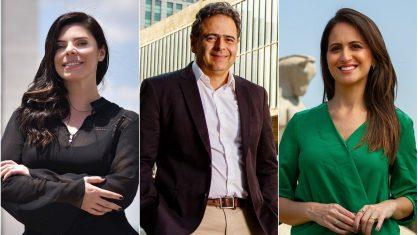 Renata Agostini, Lourival Sant'Anna e Marcela Rahal foram contratados pela CNN - Crédito: (Reprodução/Instagram)