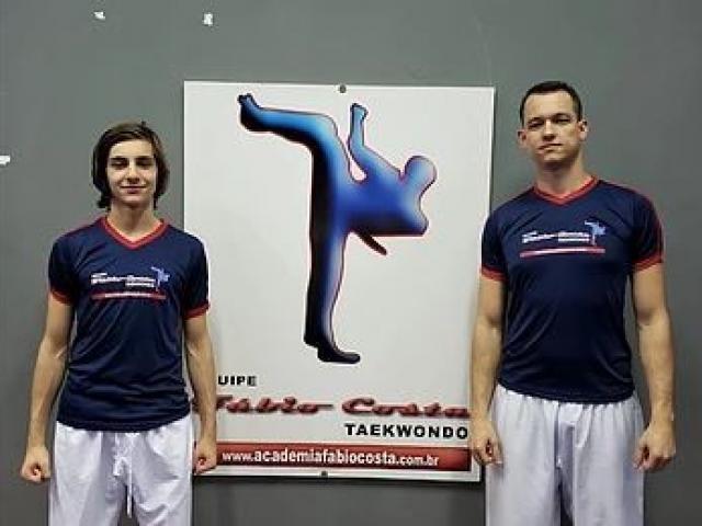 Natan e Leonardo disputarão medalhas em dois torneios internacionais (Foto: Divulgação)
