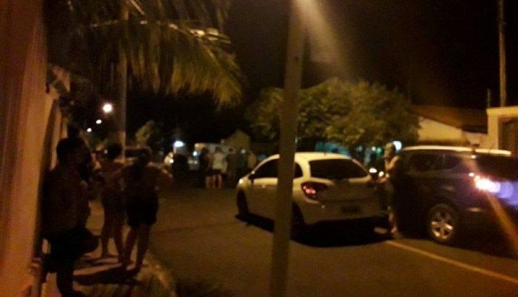 Rua onde fica a casa de Fernando.Foto: JPNews