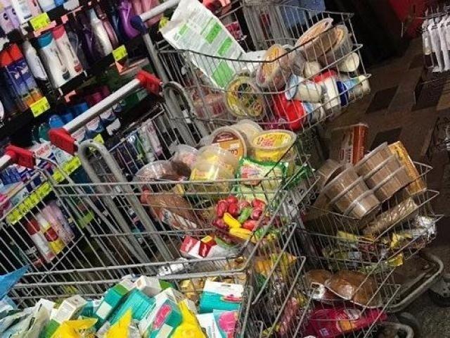 Produtos em supermercados analisados pelo Procon-MS (Foto: Divulgação)