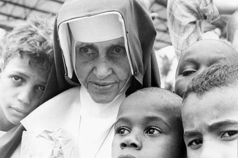 Canonizada neste domingo, Irmã Dulce é a primeira santa brasileira - Crédito: Acervo Irmã Dulce
