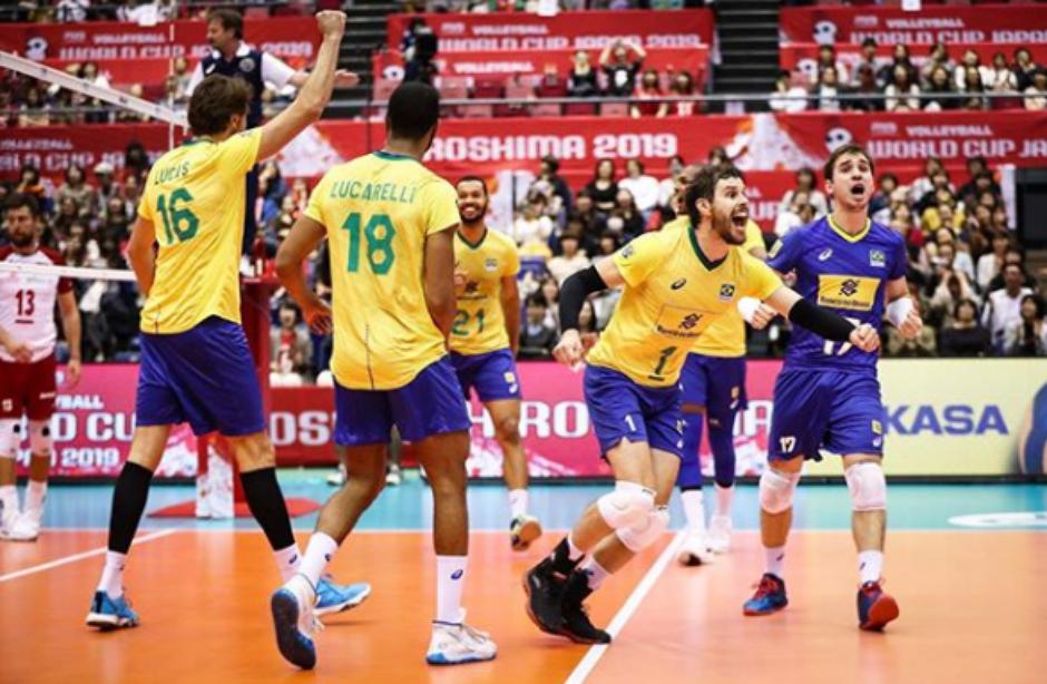 O Brasil se tornou tricampeão com uma rodada de antecedência nesta segunda-feira (Foto: Reprodução/Instagram) Foto: Gazeta Esportiva
