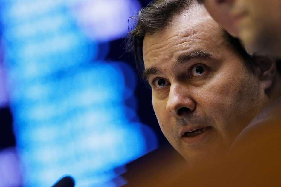 Presidente da Câmara, Rodrigo Maia 22/05/2019 REUTERS/Adriano Machado Foto: Reuters