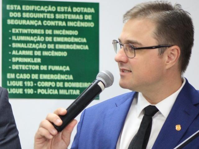 Cleo Mazzotti, superintendente da Polícia Federal em Mato Grosso do Sul (Foto: Marina Pacheco)