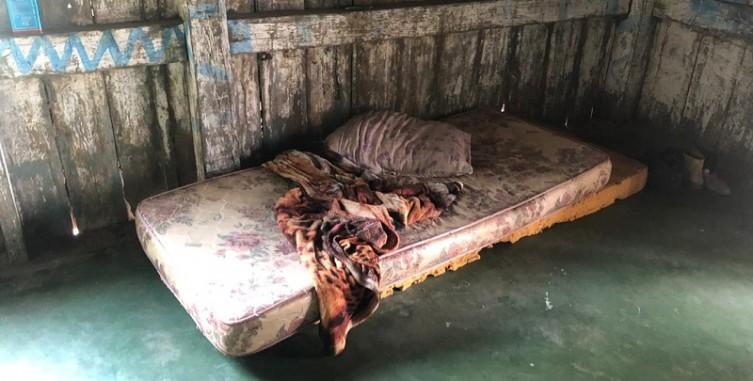 Um dos homens foi executado enquanto dormia - Crédito: Divulgação