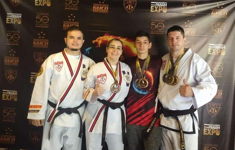 Atletas de Mato Grosso do Sul tiveram destaque na competição - Crédito: Divulgação