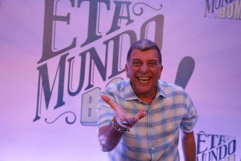 Jorge Fernando no lançamento da novela 'Êta Mundo Bom', de 2016 - Crédito: Globo / Paulo Belote