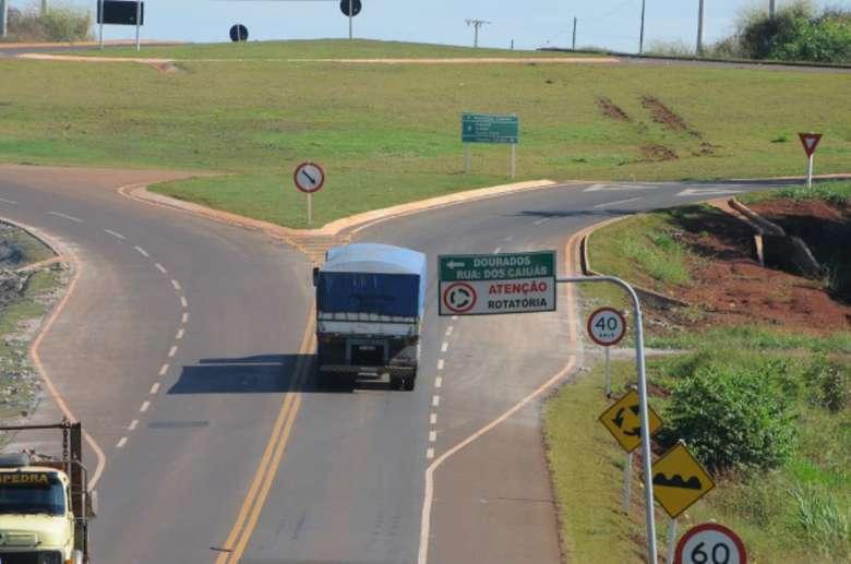 Perimetral Norte foi inaugurada em 2012 - Crédito: Divulgação/AL-MS