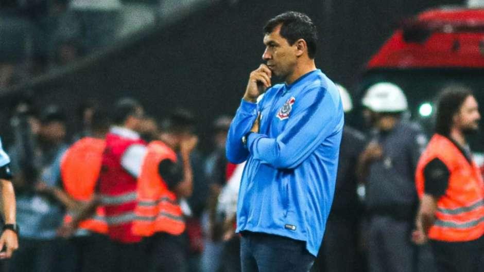 Fábio Carille foi demitido do Corinthians Foto: LANCE!