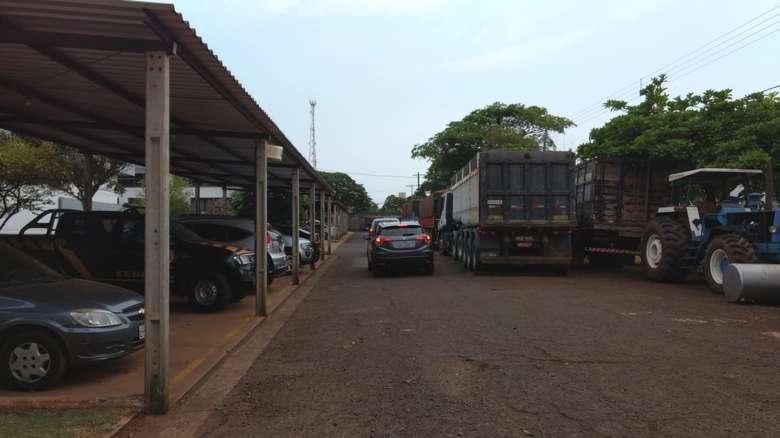Polícia Federal desencadeia operação em Dourados - Crédito: Osvaldo Duarte/Dourados News