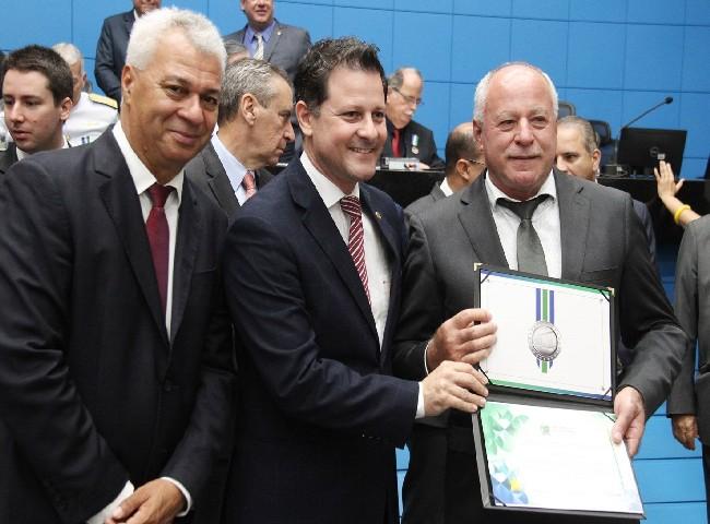 Sartor foi um dos 5 prefeitos homenageados pela ALMS com prêmio que destaca compromisso com o MS
