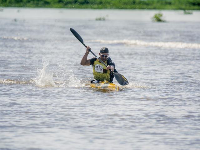 Canoagem é uma das modalidades em disputa nos jogos (Foto: Renê Marcio Carneiro)