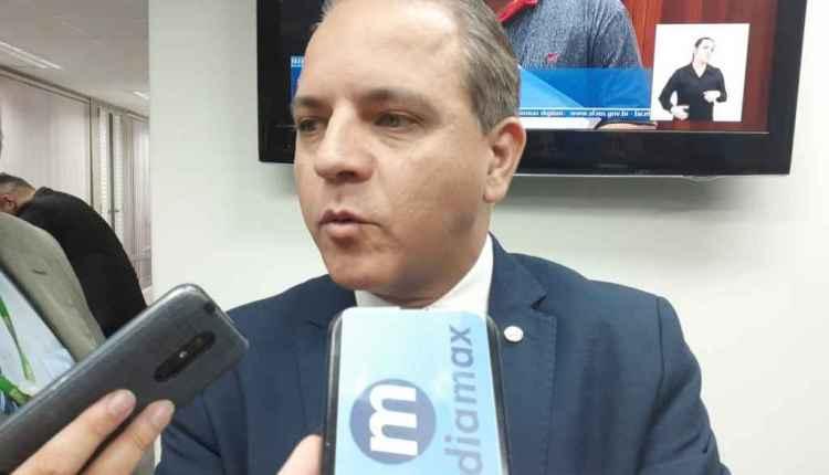 Coronel David reafirma deixar PSL com saída do presidente Jair Bolsonaro. (Renata Volpe, Midiamax)