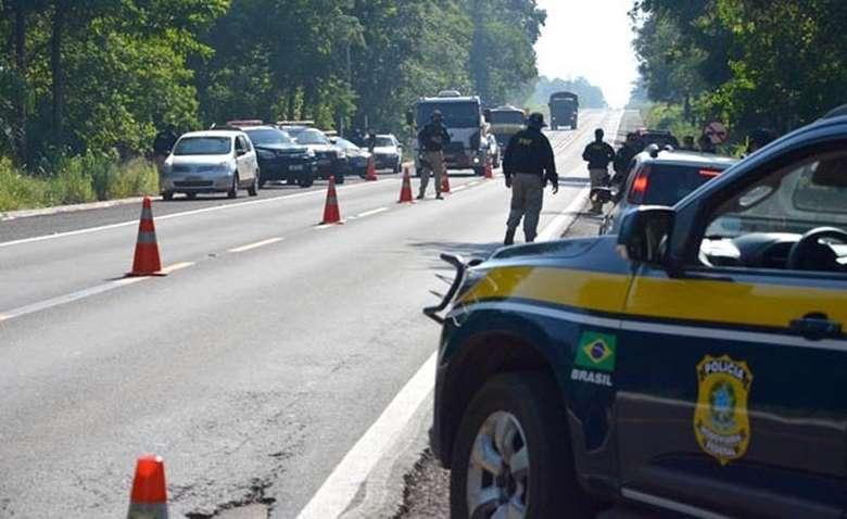 Operação nas estradas federais de MS terá reforço na fiscalização - Crédito: PRF/Divulgação