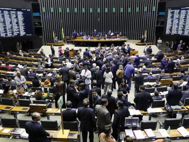 Sessão desta terça-feira (26) na Câmara dos Deputados. (Foto: Câmara dos Deputados)