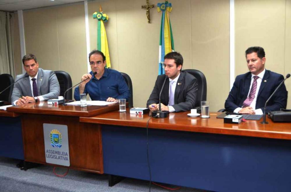 Reunião da CPI da Energisa, que passará a ser sigilosa (Assessoria)