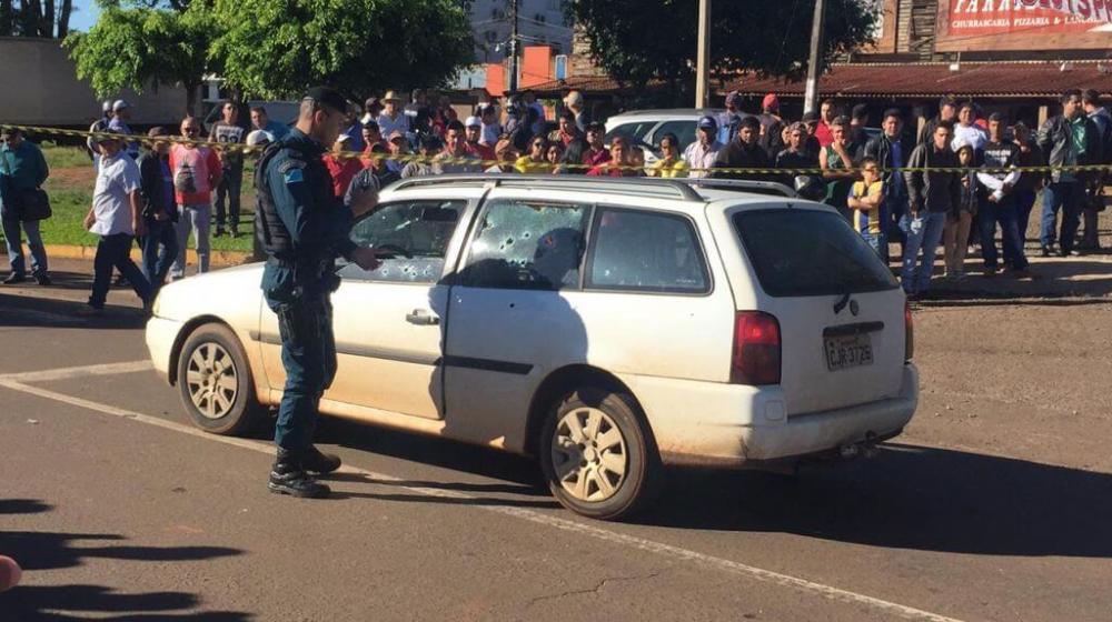 O crime aconteceu no início da manhã desta sexta-feira - Foto: Léo Veras