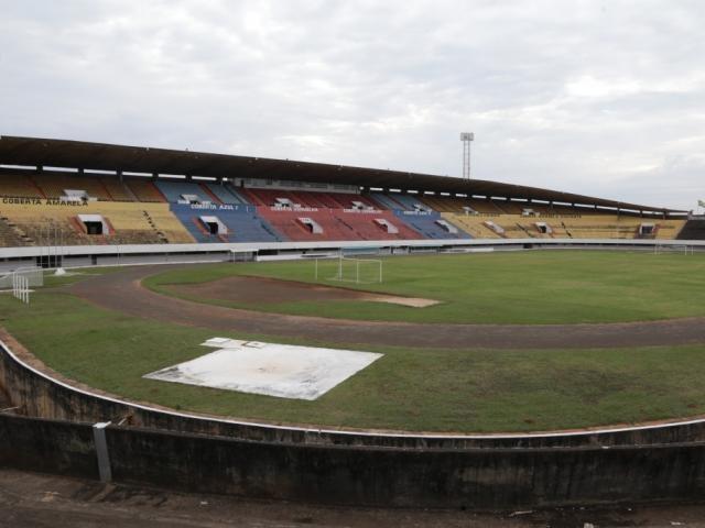 Estádio Morenão aguarda por obras para receber jogos do Estadual 2020 (Foto: Kísie Ainoã)