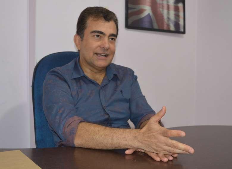 """""""Temos que pensar em um projeto que coloque Dourados no patamar que merece"""", afirma Marçal"""