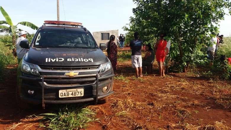 Corpo foi localizado por familiares que procuravam o homem há quatro dias - Crédito: Osvaldo Duarte/Dourados News