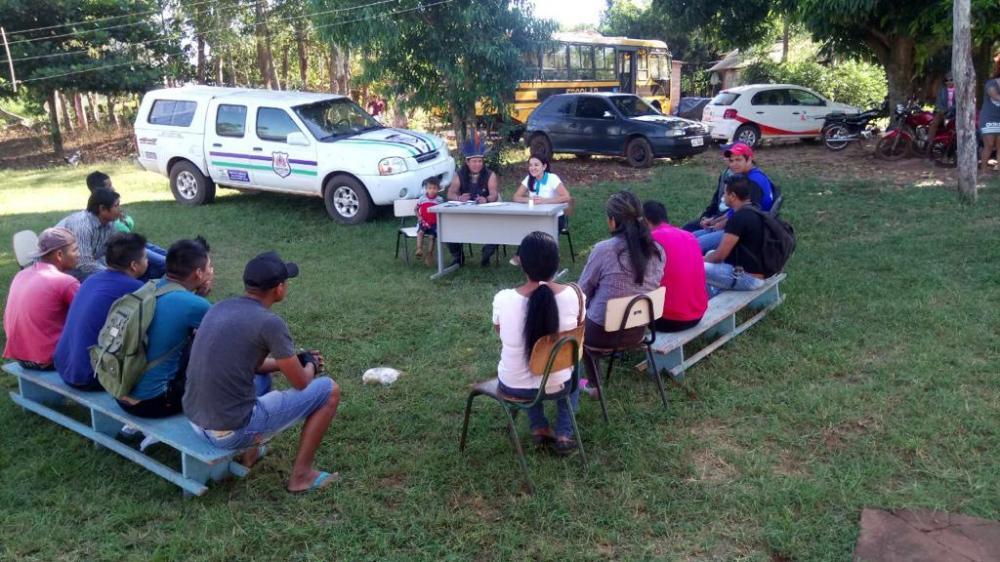 Imagem: Ação da Energisa em comunidade indígena