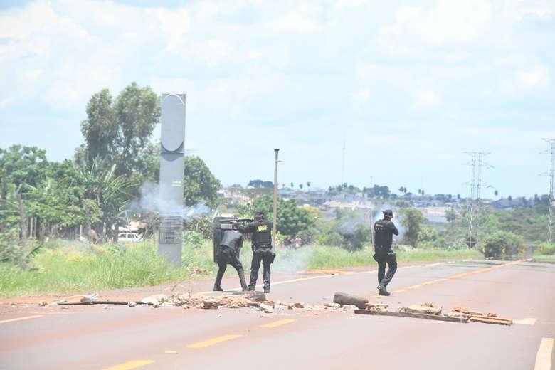 Crise foi agravada após confrontos na Perimetral Norte - Crédito: Hedio Fazan/Arquivo/Dourados News