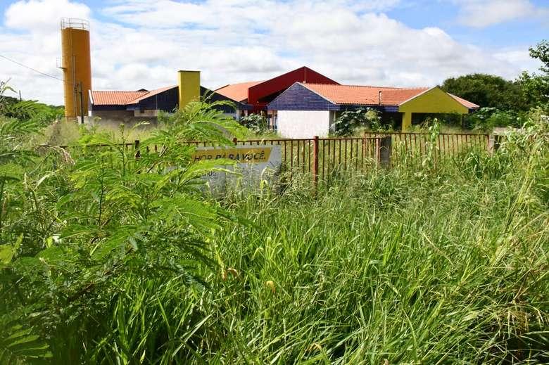 O Ceim localizado no bairro Parque do Lago I ainda não foi inaugurado - Crédito: Dourados News
