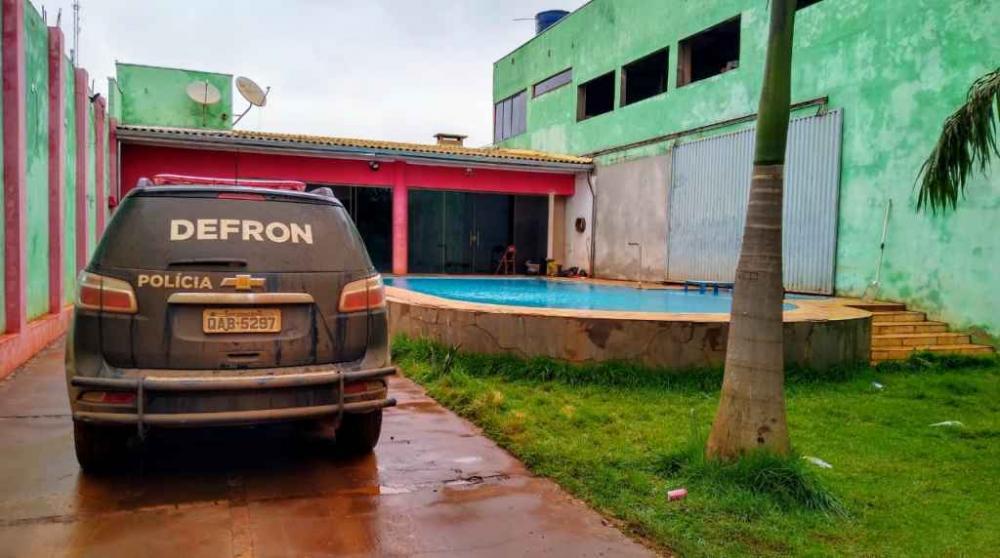 Local foi alugado por integrantes da fação na semana passada. Foto: Divulgação
