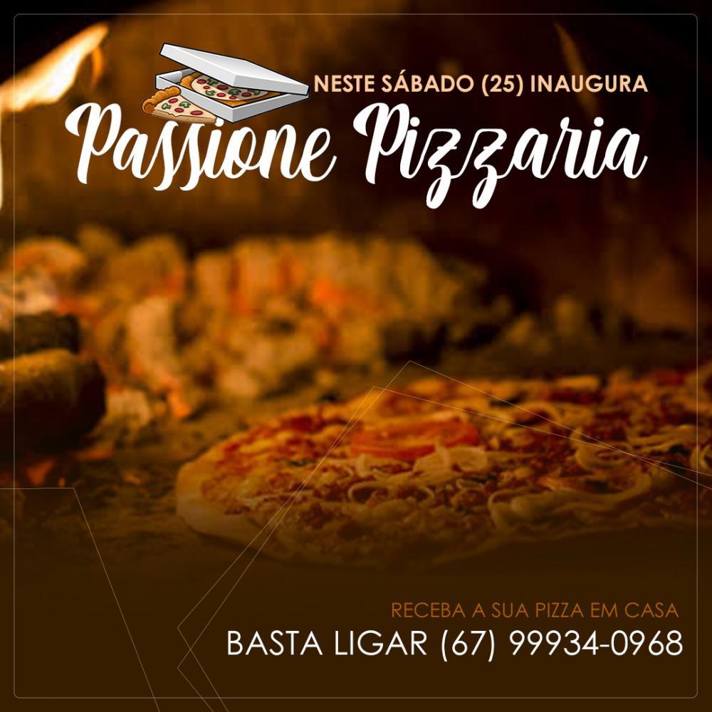 Neste sábado (25) inaugura em Deodápolis, Passione Pizzaria com pizzas assadas no forno a lenha