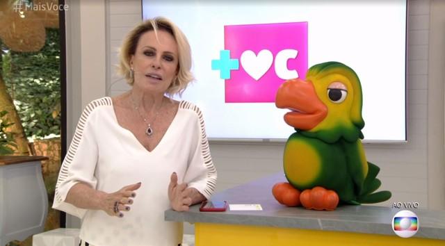 Ana Maria Braga está em tratamento contra câncer de pulmão — Foto: TV Globo